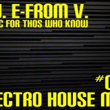 D.J. E-FROM V. - Electro House Mix #016 (Jan 2013)