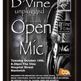 Projectlive Open Mic 14th Oct 2014 at The Vine