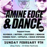 2014.02.09 - Amine Edge & DANCE @ Prince Bandroom - Tomorrow Never Comes, Melbourne, AU