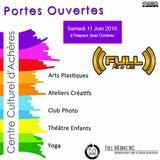 Journée portes ouvertes au CCA Centre Culturel d'Achères le 11-06-2016