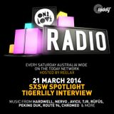 ONELOVE Radio - 21 March 2014 + Tigerlily Interview