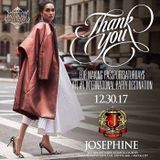 Last Passport Saturday of 2017 inside Josephine Lounge