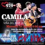 26-08-15 - #LaMañanaPresenta #ENVIVO #Camila #ViñaDelMar2012
