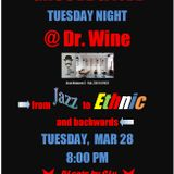 Groove & Jive @ Dr. Wine Tue, Mar 28 2017