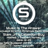 J. Psalms - Music Is The Answer vol.007 - Exclusive Strictly Christmas Radio Show
