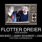 Living Room No. 6 Special B2B2B @Technokeller with Janny Schubert // Swen Baez// Sascha S