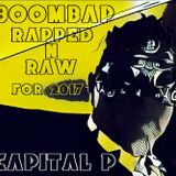 boombap rapped N raw for 2017