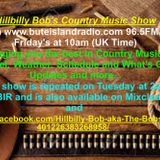 Hillbilly Bob's Country Music Show 30th June 17