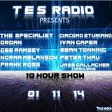 Guest Spot TES Radio UK 11/1/2014 (Full Version)