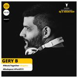 MusicTogether pres. DJ WANTED #Week11 mixed by GERY B @ KAJAHU