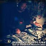 Diamond D - live at Cult Club, Moscow (2011)