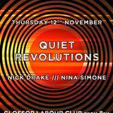 Glossop Record Club: QUIET REVOLUTIONS (November 2015)