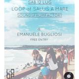 Emanuele Bugliosi @ SOUNDS FROMFACTORY at SALUS A MARE (pe) 12.07.2014