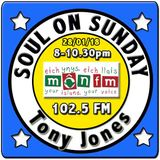 Soul On Sunday 28/01/18 - Tony Jones - MônFM Radio - Q U E E N S * O F * N O R T H E R N * S O U L
