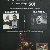 Funky Fil's 50th BDAY MIX - 9.15.18