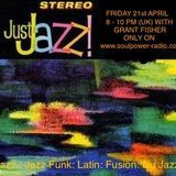 Just Jazz 21-04 on Soulpower Radio