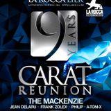 dj A-Tom-X @ La Rocca - Carat Reunion 26-12-2015