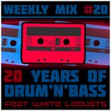 Weekly Mix #20 - 20 years of D&B [Best D&B 1993-2013 feat. White Locusts]