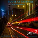 Jordan Petrof - Route Of Deepness_041 on Cosmos - Radio. Com [ 25-10-2017 ]