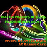 Aytee Kane - Mattia's FLUO B-day PARTY @ BARRIO CAFE Brussels / Very Uplifting 123bpm-130bpm !