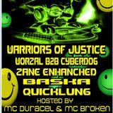 WARRIORS OF JUSTICE B2B DJ WORZAL - OLD SKOOL (FEB 2013)