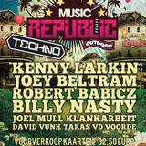 Joey Beltram Live @ Music Republic Sidelingepark,Rotterdam (18.06.11)