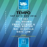 Dave Law's Tempo Set 26th November 2016 Texture Manchester.