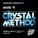 The Crystal Method – Community Service #179 - Guest mix by Vanilla Skillz (19-03-2017)