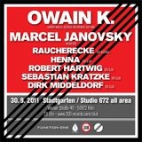 Owain K DJ Set @ Dirk & Kais Geburtstag, Sep 30, 2011, 200, Club, Studio 672, Cologne