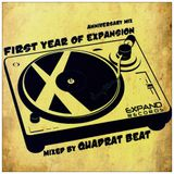 First Year Of Expansion (Mixed by Quadrat Beat)