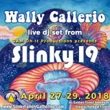 Wally Callerio - Live At Slinky 19 - April 2018