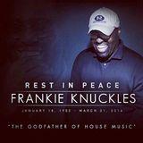 FRANKIE KNUCKELS last dj set ON TENDANCE RADIOSHOW italy PART 1
