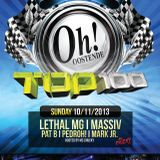 Lethal MG @ The Oh Oostende (Top 100 10/11/2013) - With MC Chucky