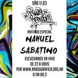 RIMAS REBELDES 11-3-17 con NAHUE SABATINO