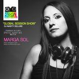 Global Session Show - Dj Nasty Deluxe & Dj Marga Sol [Conffeti Digital Radio, London, UK]