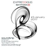 Expressions #003 - January 2017 -Soundtrip Radio 1 - Deep Melodic Moods