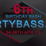 CJ Beep - GhettoFunk DBFM 6th BDay 25-04-15