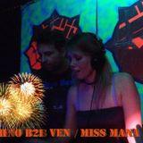 Ven & Miss Mana B2B Live @ HSA Groningen 01-01-2014
