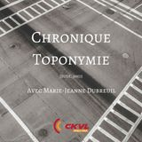 Charlie pour emporter : Chronique Toponymie - Hommage aux métiers disparus