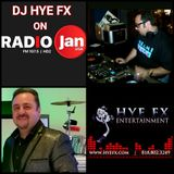 DJ Hye FX Guest DJ on Radio Jan Playback