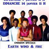 DANCING TIME  N°17 spéciale  EARTH WIND & FIRE by Mat Black Voices LA RAPPORTEUZ RADIO