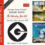 WE DIG DEEPER #Cassette Thirty Eight - Mark Cooper & John Paynter - Sat 10th Feb 2018