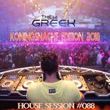 DJ-THE GREEK @ HOUSE SESSION #088 KONINGSNACHT 2018