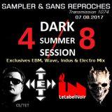 "RADIO S&SR Transmission n°1074 -- 07.08.2017 (Mixtape D.S.S. 2017 - 4/8 ""CS/TET + LE LABEL NOIR"")"