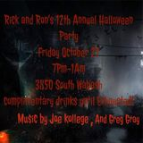 Greg Gray Live at Ron & Rick's Halloween Party 2017