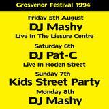 Mashy Live @ The Grosvenor Festival (5th August 1994)