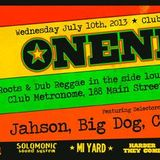 Oneness Vermont Promo Mix - w/ Jahson, Big Dog, Chris Pattison