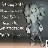 RAVE EMOTIONS RADIO SHOW (13RaVeR) - 15.02.2017. Sted Hellvis Guest Mix @ RAVE EMOTIONS