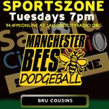 Bru Cousins on Manchester Bees Dodgeball Club