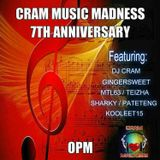 CRAM MUSIC MADNESS - 7th ANNIVERSARY OPM COLLABORATION